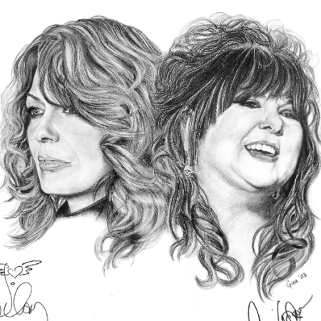 Ann & Nancy Wilson of Heart